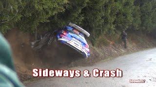 Spa Rallye 2017 Mistakes, Crash & Show