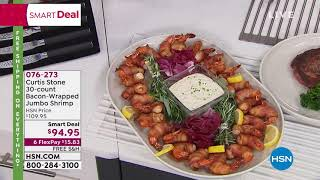 Curtis Stone 30count BaconWrapped Jumbo Shrimp