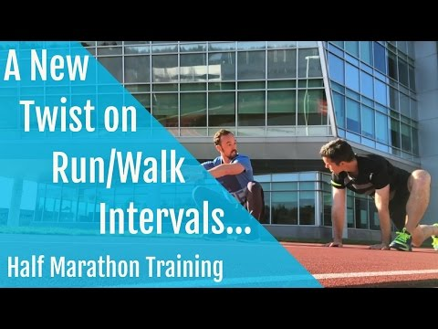 Half Marathon Training | A New Twist on Run-Walk Intervals