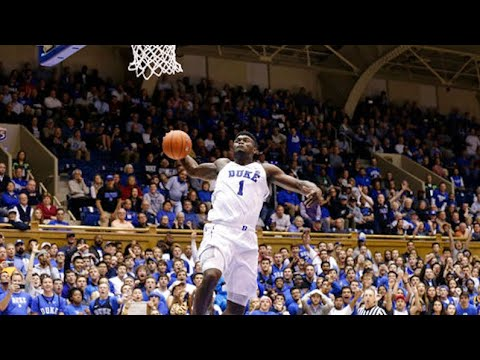 Zion Williamson High-Flying Dunks Compilation
