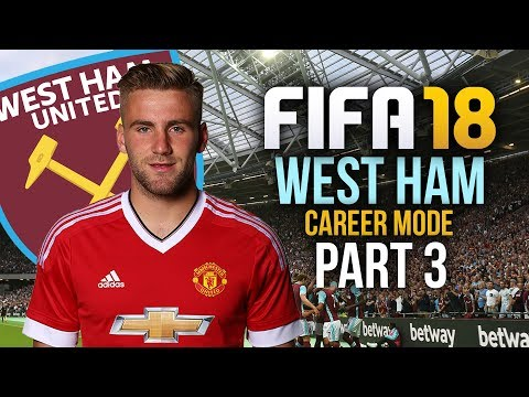 FIFA 18 West Ham Career Mode Gameplay Walkthrough Part 3 - CUP FINAL ???