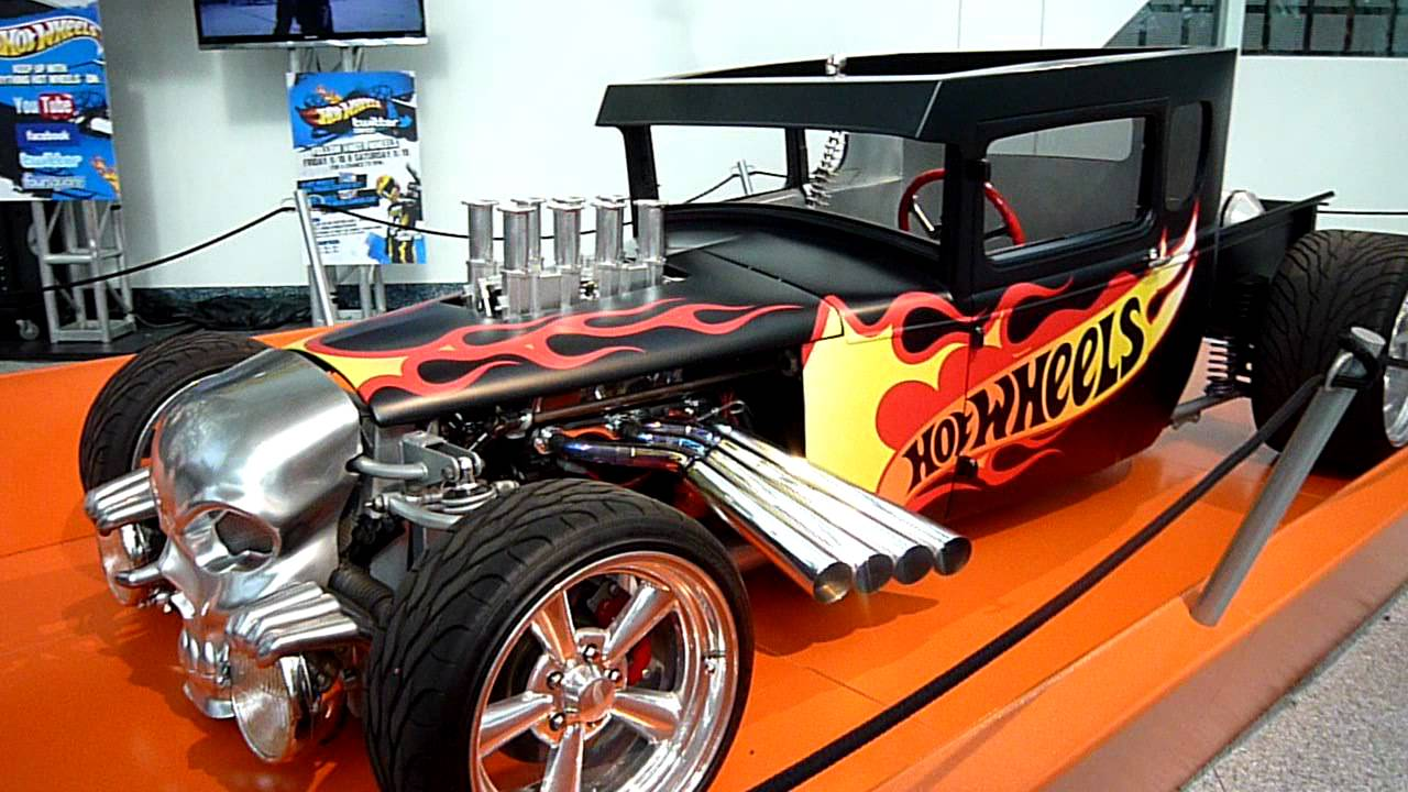 Hot Wheels Bone Shaker 2011 La Auto Show Youtube