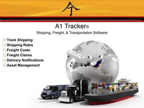 Shipping & Freight Software by A1 Tracker