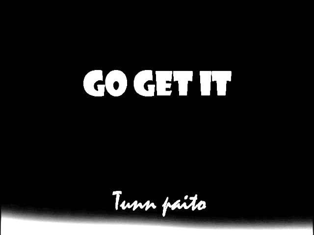 Go get it - Tunn paito