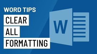 Word Quick Tip: Clęar All Formatting