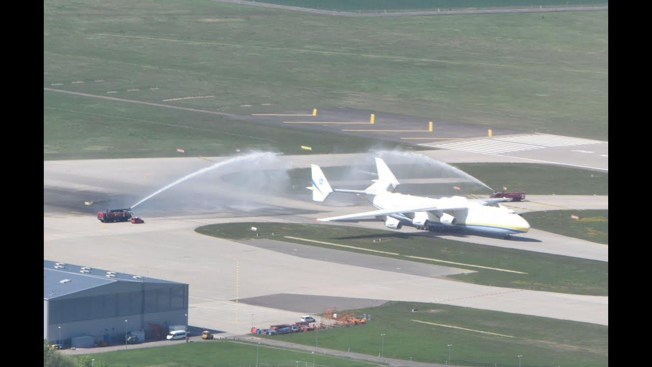Antonov An 225 Mriya Die 25 Landung Am 29042018 Leipzighalle
