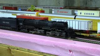 Custom Weathered AHM Big Boy Union Pacific #4005 DC/Analog