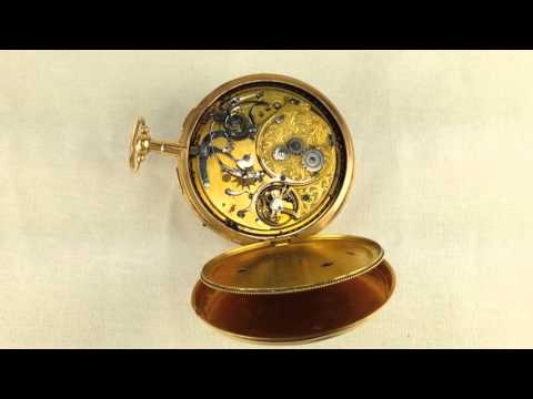 Musical Repeater Pocket Watch