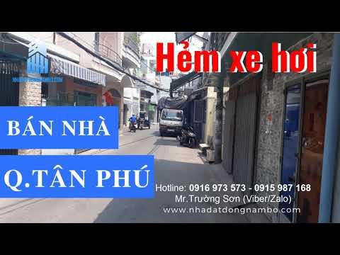 Bán nhà Hẻm xe hơi quận Tân Phú 2019 - Cập nhật tháng 3/2019