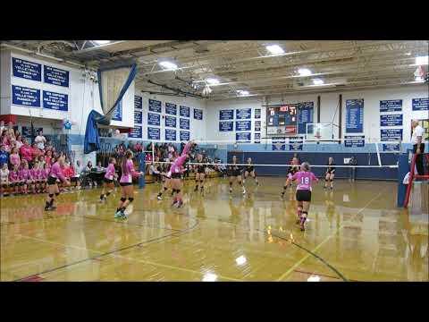 Inter-Lakes High School Varsity Volleyball v. Moultonborough Academy 9/28/18