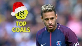 Top 10 goals | mid-season 2017-18 | Ligue 1 Conforama