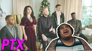 Pentatonix - Deck The Halls [MUSIC REACTION]