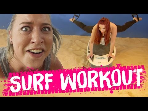 INTENSE Surf Workout!! (Beauty Trippin)
