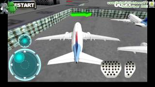 Airport 3D airplane parking for Android GamePlay