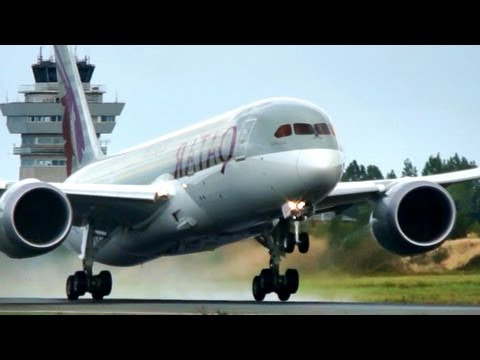 FULL HD!! Qatar Airways / Boeing 787 Dreamliner first takeoff at Kastrup (Full HD1080p)