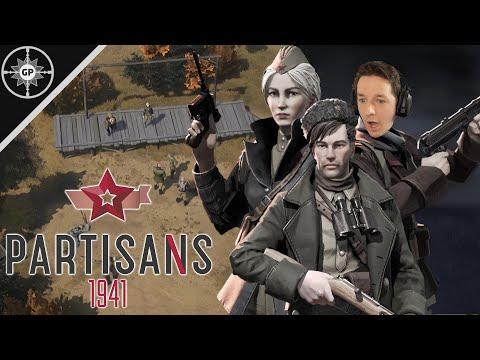 STEALTH, DIE, REPEAT!!! - Partisans 1941 Gameplay |