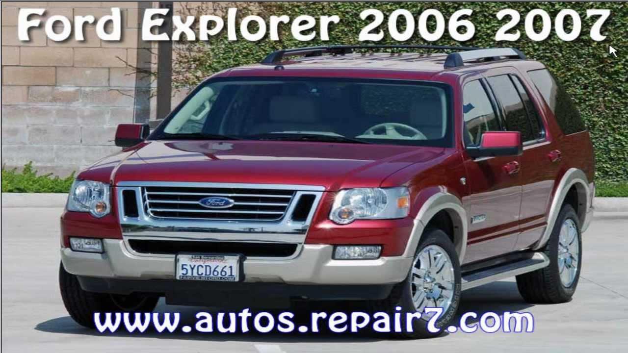 Ford Explorer 2006 2007 Manual De Reparacion Mecanica border=