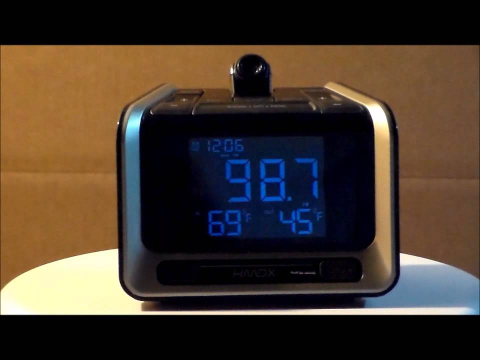 e8ebe2df76c HDMX by Homedics HX-B320 Sleep Station Projection Clock Radio - YouTube