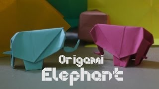 How To Make Origami Elephant - By Origami Artists