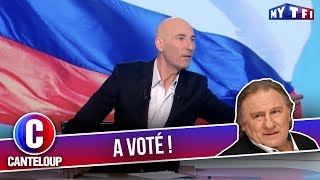 """Imitation de Gérard Depardieu - """"J'ai voté pour mon Poupou !"""" - C'est Canteloup"""