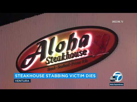 Man stabbed in neck while dining w/ family in Ventura dies   ABC7