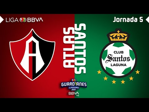 Atlas Santos Laguna Goals And Highlights
