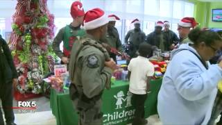 Atlanta SWAT hosts children