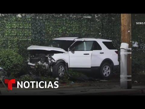 Niña que huía de la policía terminó matando a dos hispanos | Noticias Telemundo