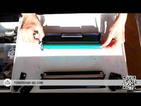 Зареждане на тонер касета Samsung MLT-D111S | MLT-D101S