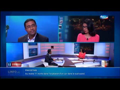 """David Appadoo - UPR-Réunion: """"LES VRAIS ENJEUX POUR LA REUNION"""" - JT d'Antenne Réunion"""