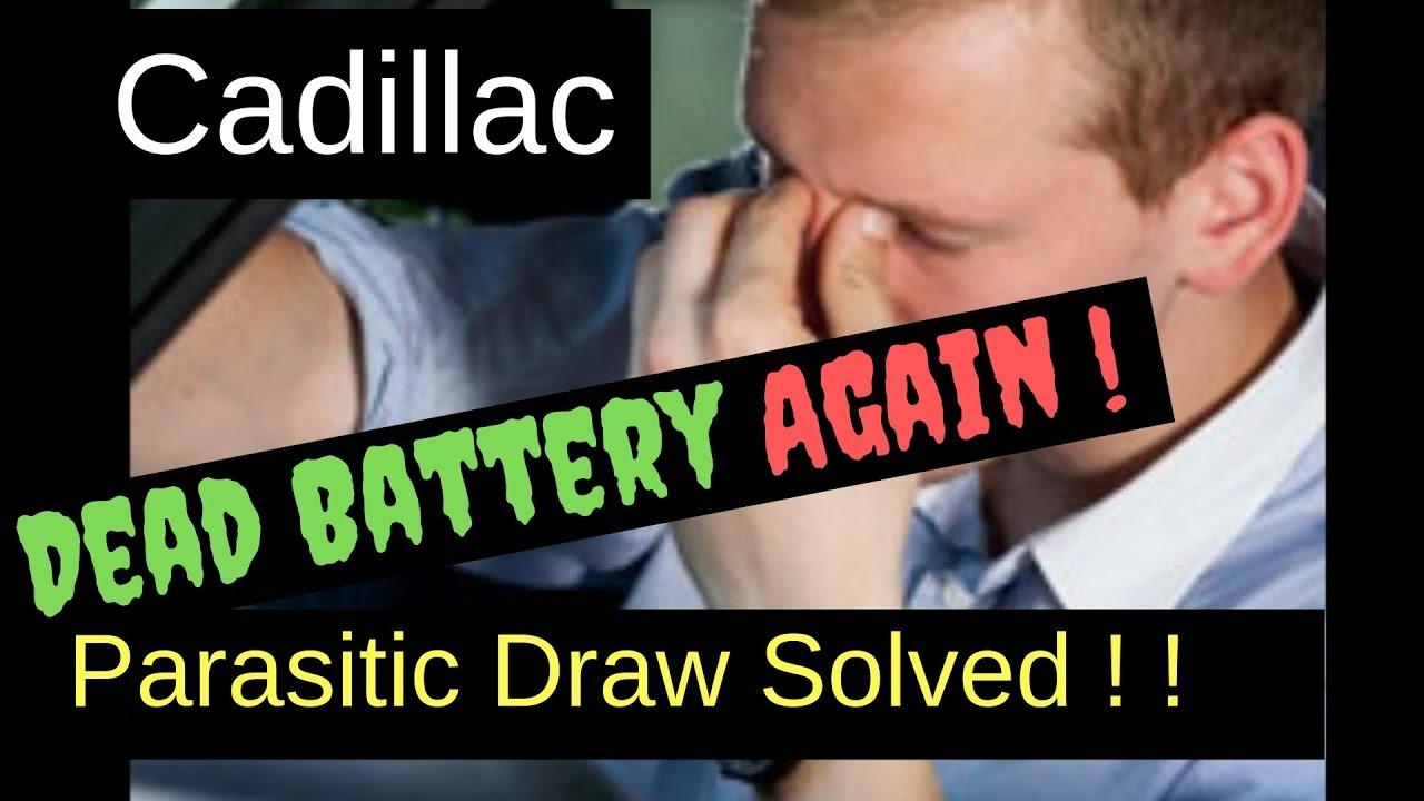 1999 cadillac deville battery drain