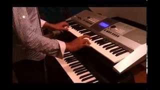 indian music pehle khabi instrument,playing duoble keyboard....