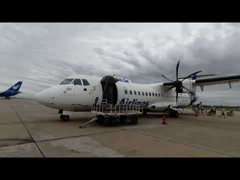 Lao Airlines • Flight Report • QV402 •XIENG KHOUANG To Vientiane • XKH-VTE • AT72