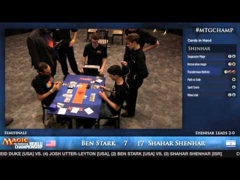 2013 Magic World Championship - Semifinal - Ben Stark vs. Shahar Shenhar