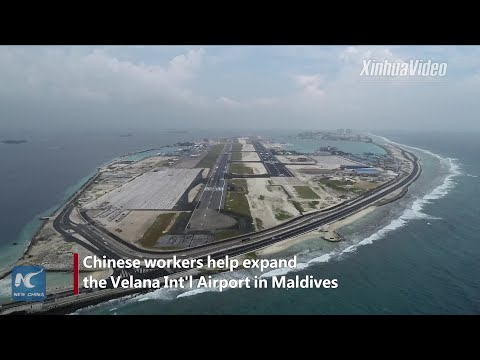 Chinese company accelerates expansion of Maldives&39;s Velana Int&39;l Airport