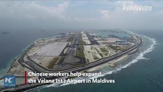 Baixar Chinese company accelerates expansion of Maldives's Velana Int'l Airport