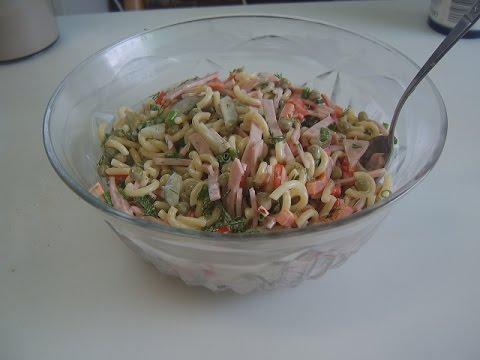 Салат( Nudelsalat)