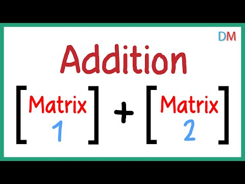 Addition of Matrices