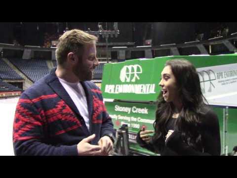 2017 Golden Skate interview with Gabrielle Daleman