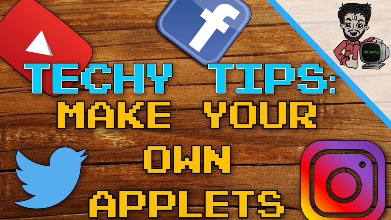How to make your own Bots or Applets with IFTTT | Techy Tips | RDTechy