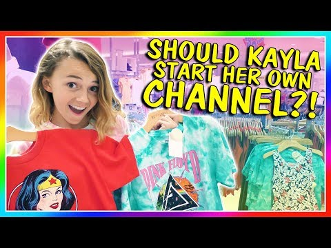SHOULD KAYLA START HER OWN CHANNEL? | We Are The Davises