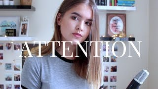 Attention - Charlie Puth / Cover by Jodie Mellor