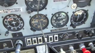 Flying:  Take-off roll 1976 Grumman AA1B Trainer N1647R (7-10-14)