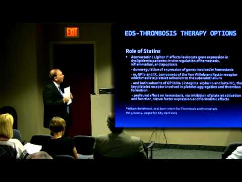 CSF sponsored Ehlers-Danlos & Hematology Lecture