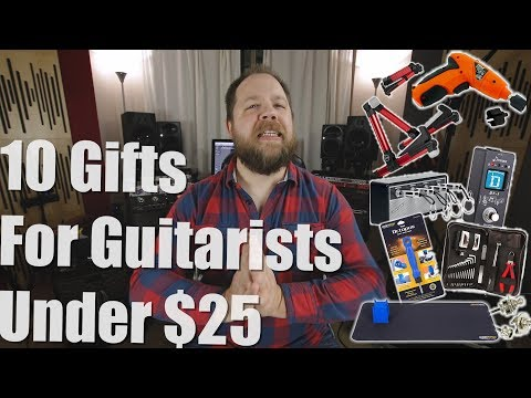 10 Gifts For Guitarists Under $25
