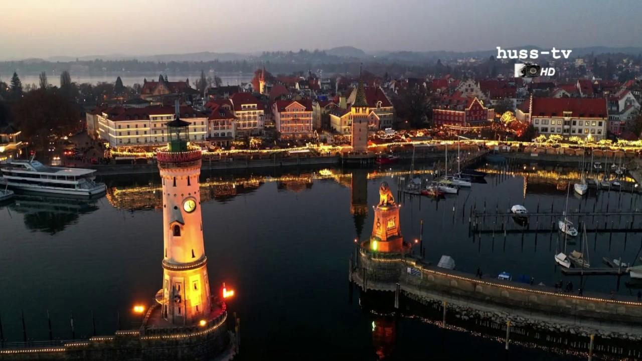 Lindau Weihnachtsmarkt.Eröffnung Der Lindauer Hafenweihnacht Am 22 11 2018 Movie