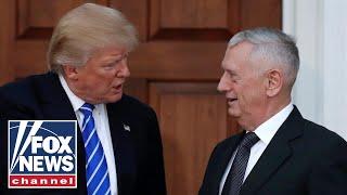 Mattis cites clashing views with Trump in resignation