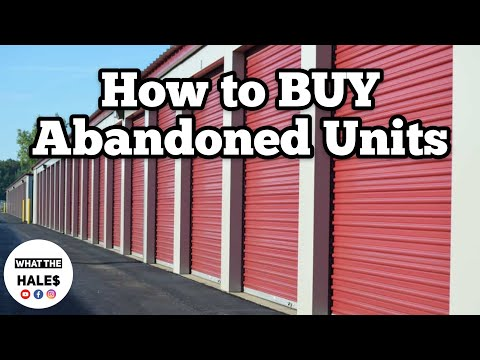 STORAGE UNIT BUYING BEGINNERS TRAINING COURSE / $40 Real Life Storage Wars Auction / Mystery Boxes