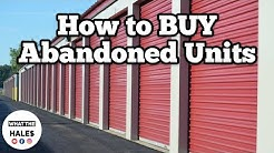 How To Buy Abandoned Storage Units & Lockers Like Storage Wars TV Auctions