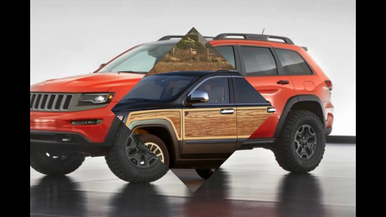 2019 2018 Jeep Grand Cherokee Wagoneer Suv Concept Changes